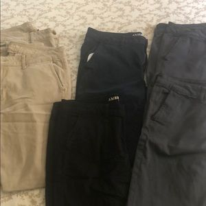 6 pairs of American Eagle super stretch pants
